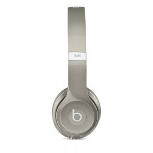 Full Size: Genuine UK Stock Apple Beats by Dr. Dre Solo 2 Headphones Luxe Edition - Silver