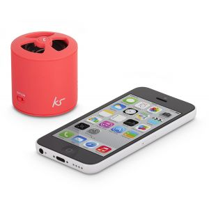 Sound & Vision: Kitsound Pocketboom Portable Wireless Mini Bluetooth Speaker MP3 iPod iPhone