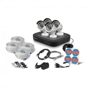 Swann DVR4 4750 4 Channel 1080p TVI AHD 1TB 4x Pro T858 3 MP Cameras CCTV Kit