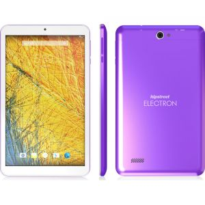 Tablets: HipStreet Electron 8 inch LCD Tablet 8GB Quad Core Android Lollipop Bluetooth Purple