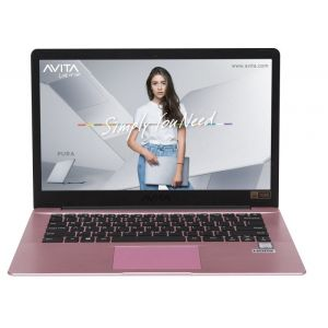 Laptops: AVITA PURA 14 NS14A6 14 inch Full HD Laptop AMD Ryzen 3, 4GB, 256 GB SSD - Rose Gold
