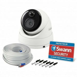 Swann PRO-4KDOME Ultra HD Thermal Sensing Dome Security Camera CCTV NVR-5580