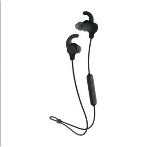 SKULLCANDY Jib+ Active Wireless Rechargeable Bluetooth Earphones 8H Battery Mic - Black