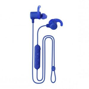 SKULLCANDY Jib+ Active Wireless Rechargeable Bluetooth Earphones 8H Battery Mic - Blue