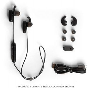 Headphones: Skullcandy Method ANC Wireless Magnetic Earbuds In-Ear Bluetooth Mic Tile 6 Hr Battery - Moab Red
