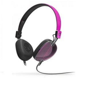 Headphones: Skullcandy NAVIGATOR On-Ear Wired Headphones with Mic Foldable Detachable Cable