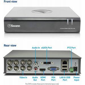 CCTV Systems: Swann DVR 8 4600 8 Channel HD Digital 1TB HDD CCTV HDMI VGA Video Recorder