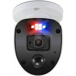 CCTV Cameras: Swann 1080SL Full HD 1080p Enforcer Bullet CCTV Camera Flashing Lights DVR 4680 - Single Camera