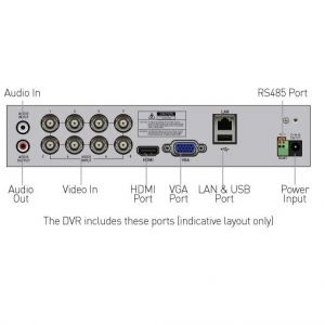 CCTV Systems: Swann DVR 8 4680 1080p Full HD 8 Channel Digital Video Recorder PIR CCTV HDMI
