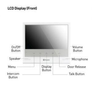CCTV Cameras: Swann Expandable Intercom & Video Doorphone Doorbell 7 inch LCD Monitor Night SWADS-DP885C