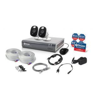 CCTV Systems: Swann 4580 4 Channel 1TB DVR 2 x 1080MSFB 1080p Flash Motion Camera CCTV Kit
