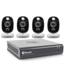 CCTV Systems: Swann 4580 8 Channel 1TB DVR 4 x 1080MSFB 1080p Flash Motion Camera CCTV Kit