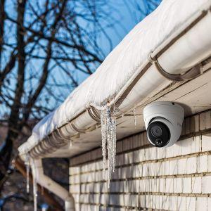 CCTV Cameras: Swann NHD-888MSD 4K Heat Motion Sensing Dome CCTV Camera POE 8680