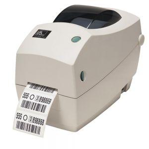 Printers: Zebra TLP 2824 Plus Monochrome Desktop Thermal Printer 56mm print labels USB