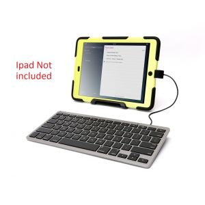 Keyboard & Mice: Griffin Wired Keyboard with Lightning Connector for Apple iPad XB38326 - U.S. Layout