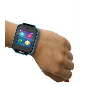 Gadgets & Gifts: KURIO Kids Smart Watch Bluetooth Camera Speaker Mic Text Call Audio Video Games - Blue