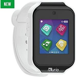 Gadgets & Gifts: KURIO Kids Smart Watch Bluetooth Camera Speaker Mic Text Call Audio Video Games - White
