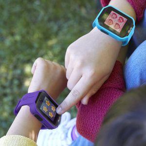 Gadgets & Gifts: KURIO Kids Smart watch V2.0+ Bluetooth Camera Call Text Video 2 Straps - Blue