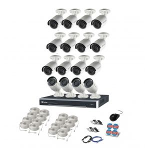 CCTV Systems: Swann NVR 8000 16 Channel 4K Ultra HD Security System CCTV 4TB 4K NHD-880 Bullet 16x Camera kit