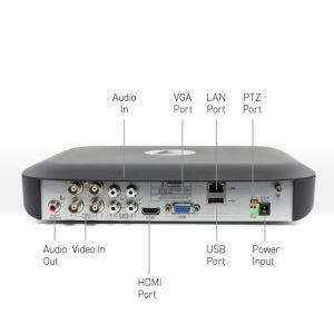 CCTV Systems: Swann SWDVK 4980 Heat-Sensing 4 Channel 1TB 5MP CCTV PRO-5MPMSB DVR