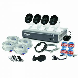 Swann DVR 4580 4 Channel 1TB DVR HD Heat Sensing Motion PIR 4 x 1080MSB Cam...