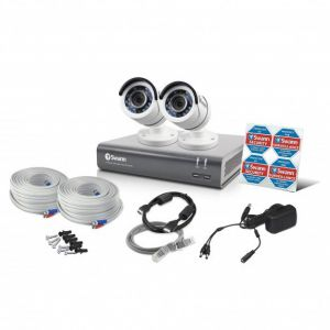 CCTV Systems: Swann DVR 4575 4 Channel 1TB HD Digital Video Recorder 2 x Pro-T852 Cameras CCTV Kit